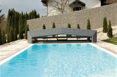 Pool-Cover the Retractable Swimming Pool Enclosures